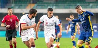 Calcio, Serie A: Cagliari-Verona