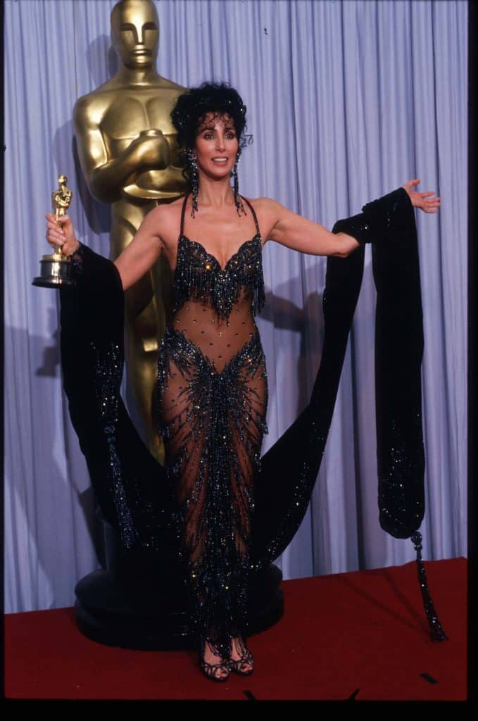 Cher vestita Bob Mackie © vogue.it