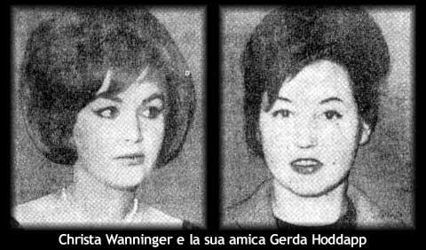 Nella foto Christa Wanninger e Gelda Hoddapp  photo credit: misteriditalia.it