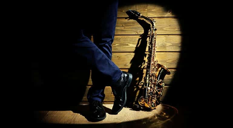 Nella foto un sax, simbolo del jazz  photo credit: thomann.de