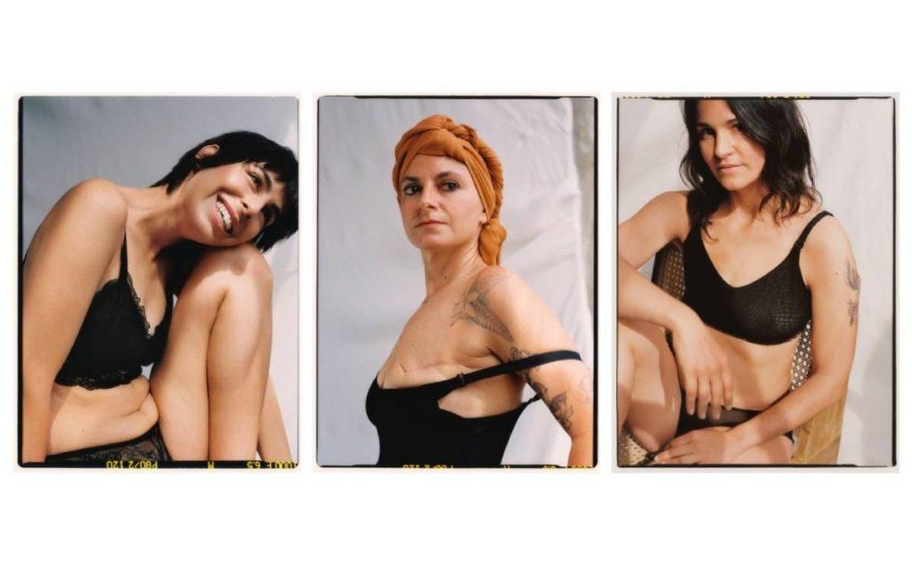 Mango e la sua nuova linea per donne con un solo seno causa mastectomia - credit: fashioniunited.it