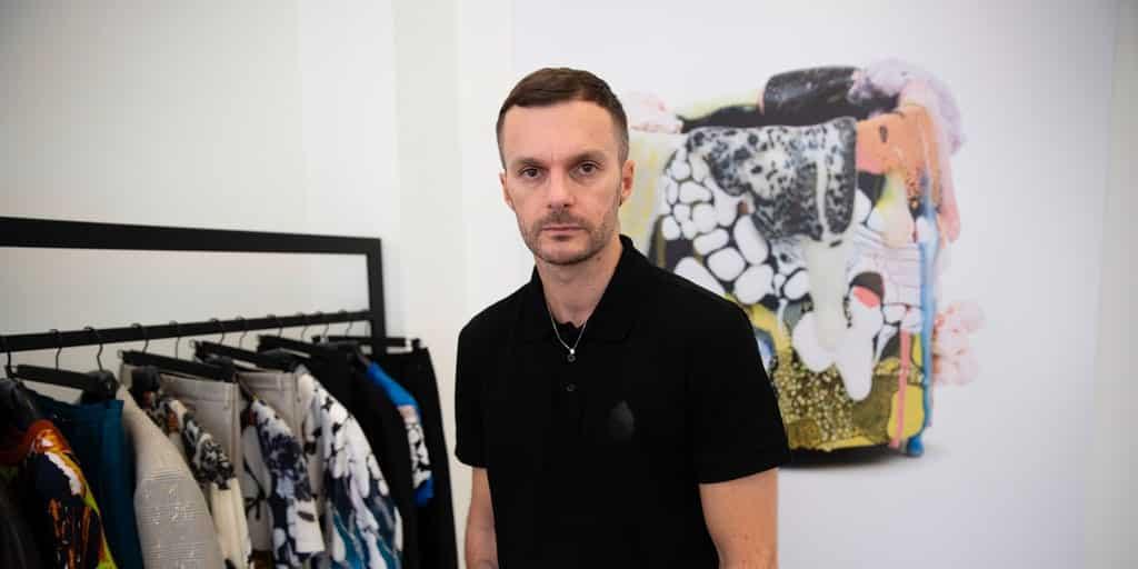 KrKris Van Assche lascia Berruti - credit: the business of fashion
