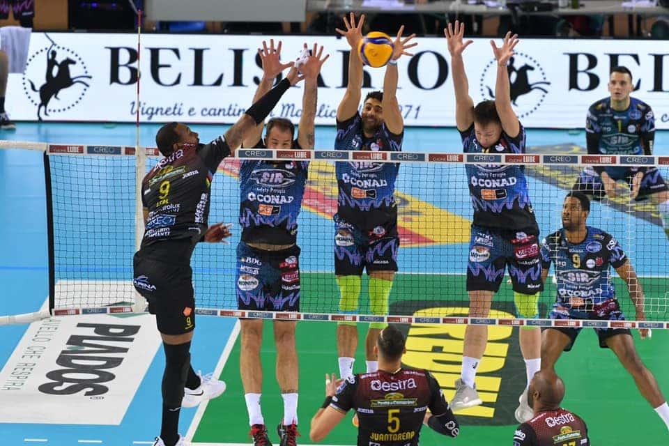 VOLLEY - finale Perugia civitanova