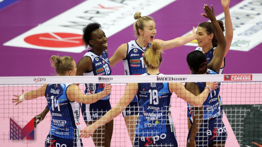punto Imoco -Photo Credit: Rubin/Lega Volley Official Website