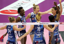 punto Imoco -Photo Credit: Rubin/Lega Volley Official Website