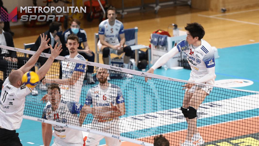schiacciata Ishikawa - Photo Credit: Lega Volley Official Website