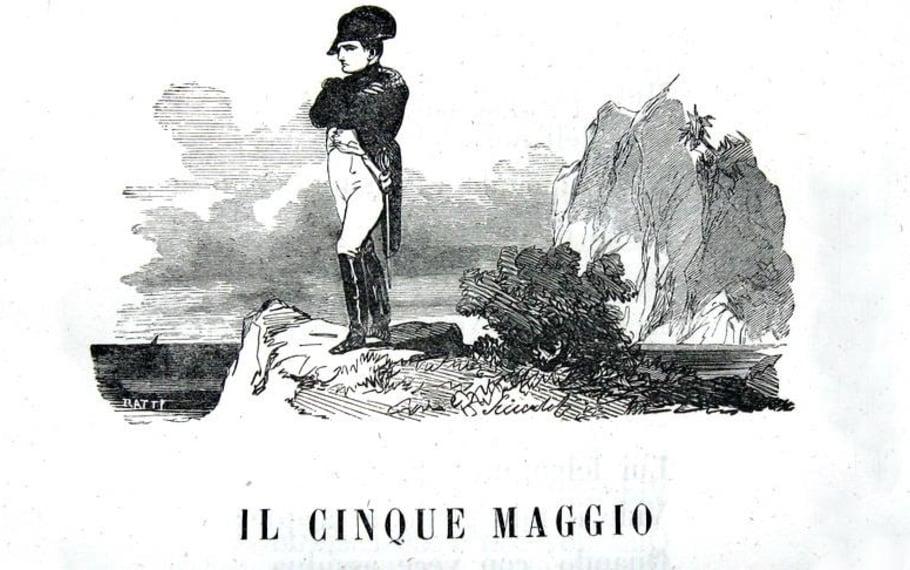 Il cinque maggio, Alessandro Manzoni - Photo Credits: libriantichionline.com