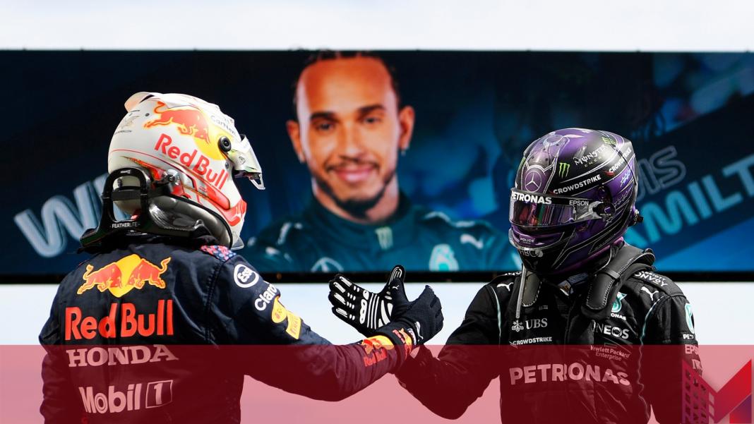 Formula Uno Hamilton Verstappen (Pagina Facebook F1)