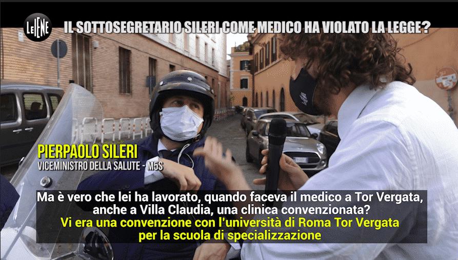 Le Iene, Sileri © ufficio stampa Mediaset