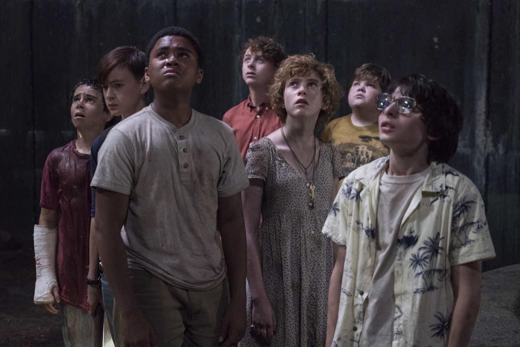 """Il cast dei giovani protagonisti di """"It"""", stasera in tv su Italia 1 - Photo Credits: IMDb"""