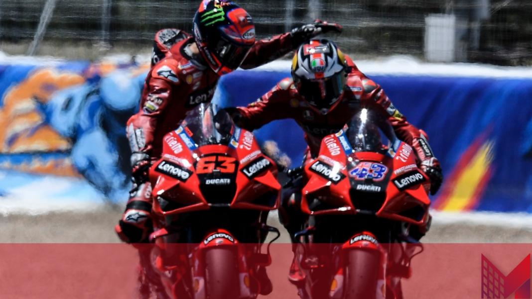 MotoGP classifica piloti Bagnaia Ducati (Pagina Facebook Francesco Bagnaia)