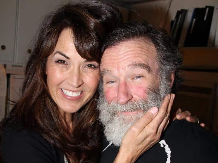 Susan Schneider, moglie di Robin Williams - credit: movieplayer