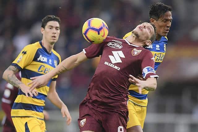 Calcio, Serie A: Torino-Parma