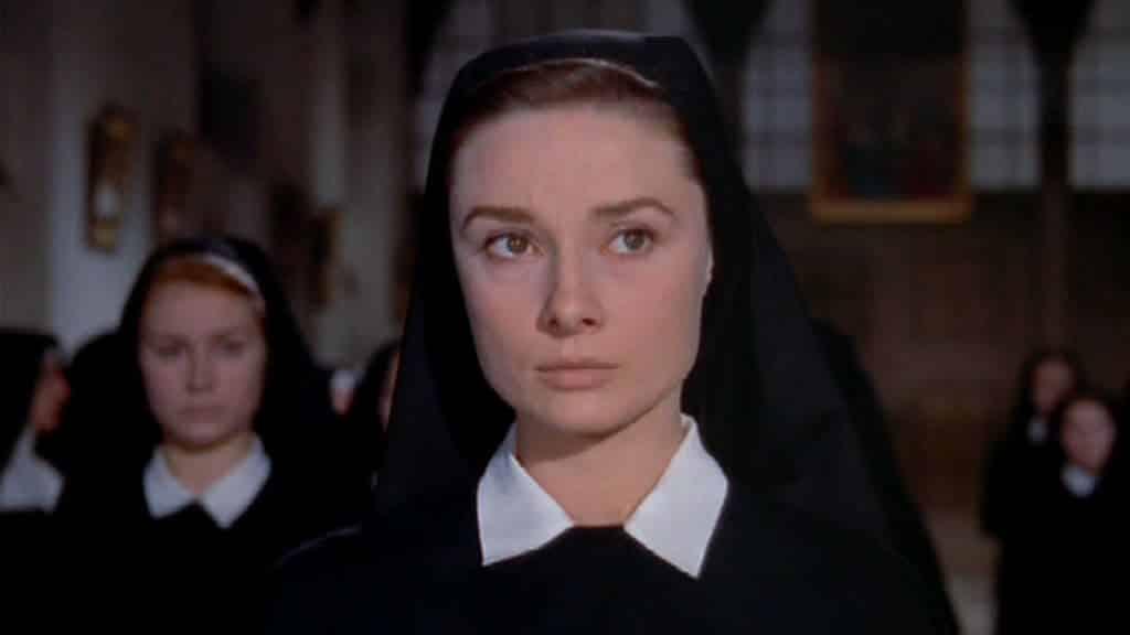 """Audrey Hepburn ne """"La storia di una monaca"""" - Photo Credits: carovecchiocinema"""