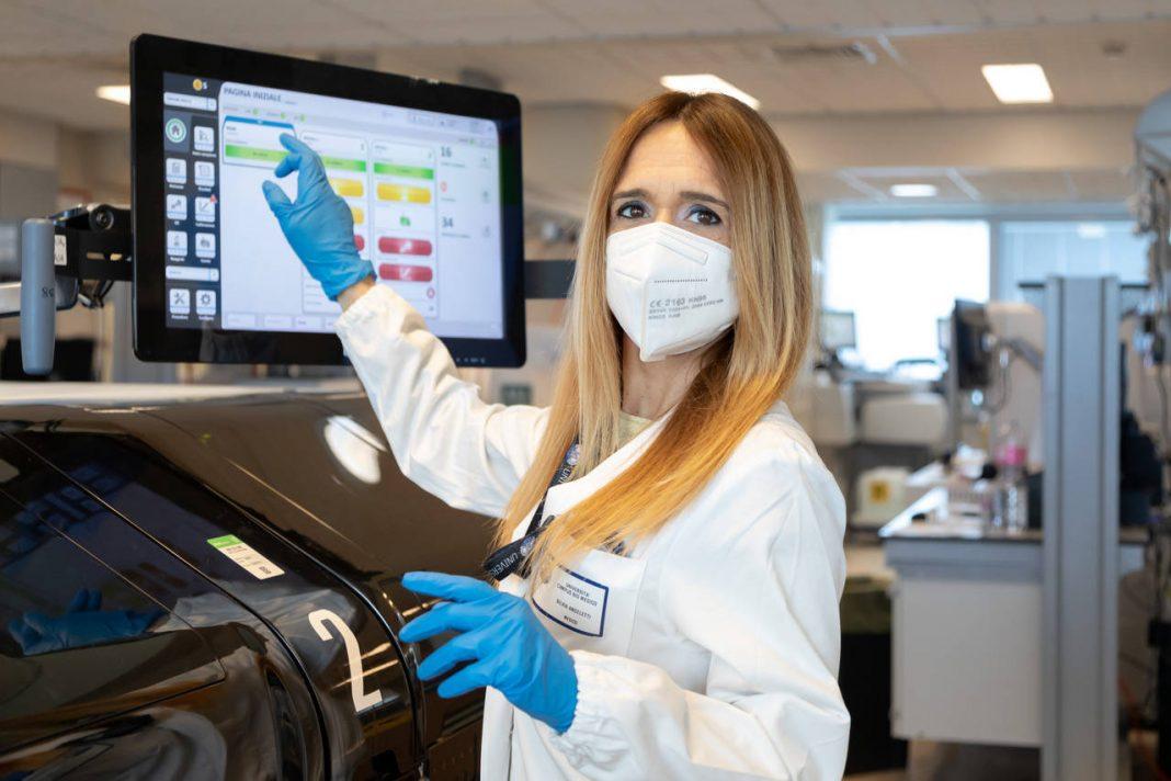 Silvia Angeletti sarà tra i professionisti sanitari premiati con ila targa David 2021 - Riconoscimento D'Onore - Per gentile concessione di CristIana Caimmi