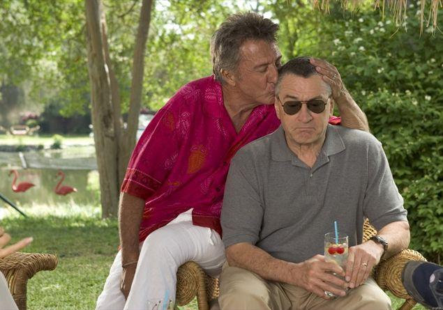 """Dustin Hoffman e Robert De Niro in """"Mi presenti i tuoi?"""" - Photo credit: dal web"""