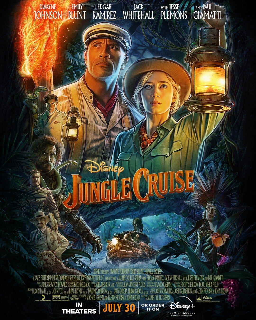 Jungle Cruise in testa al box office italiano, ma gli incassi non decollano