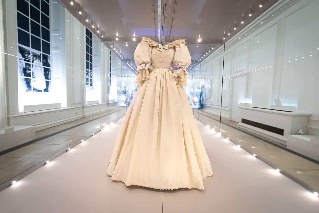 La nuova vita dell'abito di Lady Diana