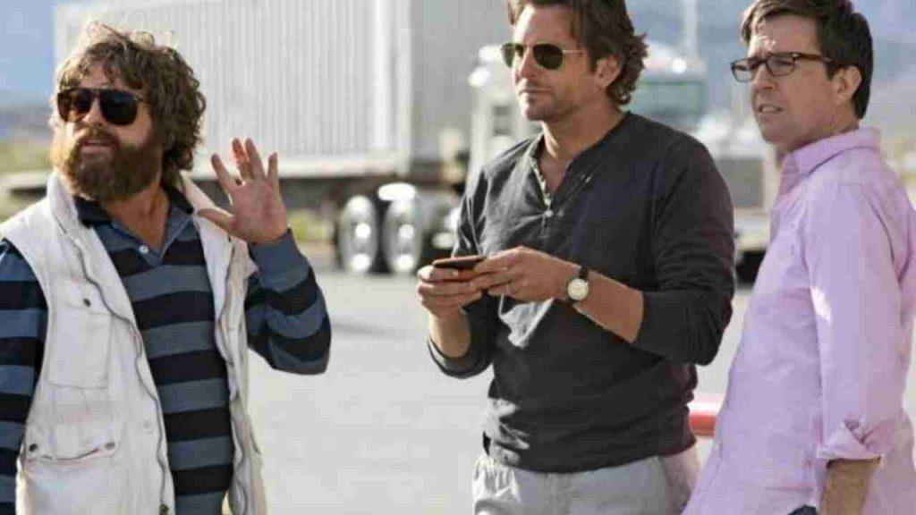 """Zach Galifianakis, Ed Helms e Bradley Cooper in """"Una notte da leoni 3"""" - Photo Credits: LettoQuotidiano.it"""