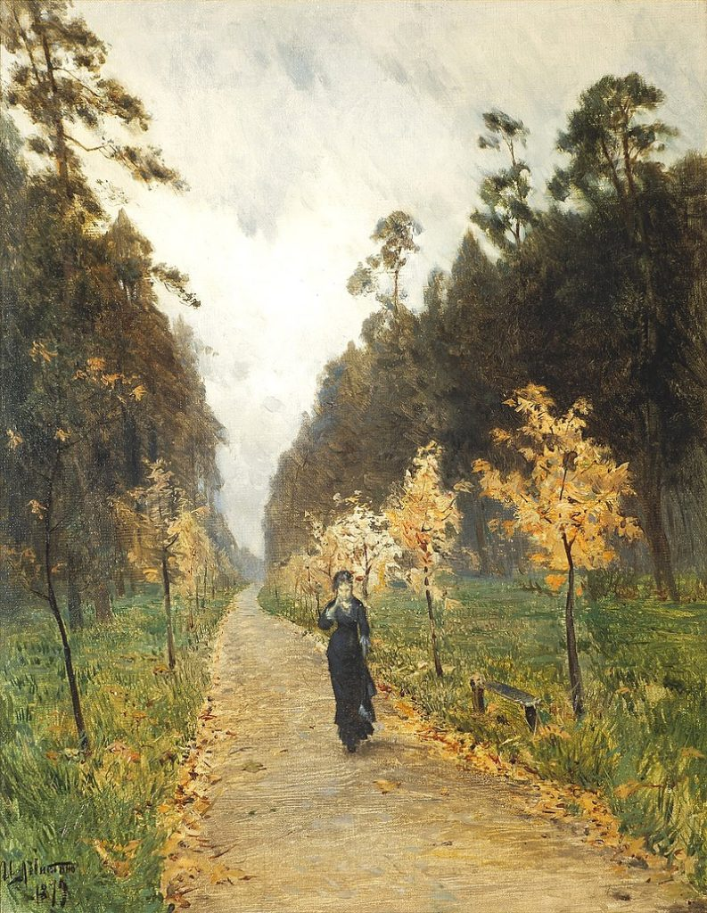 Levitan, Giornata d'Autunno, 1897