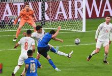 Precedenti Italia stadio Wembley di Londra: Chiesa in gol contro la Spagna
