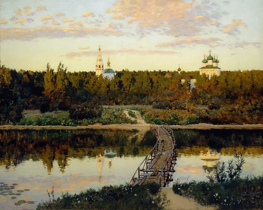 La certosa tranquilla, 1890