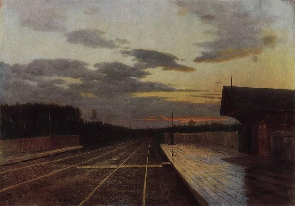 La sera dopo la pioggia, 1879