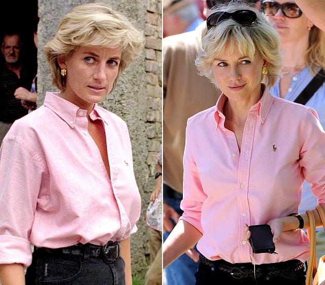 Lady Diana e Naomi Watts a confronto - Photo credit: dal web