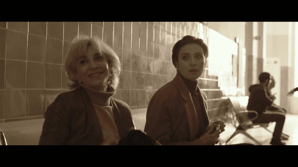 """Anna Bonaiuto e Anna Foglietta in una scena di """"Blackout Love"""""""