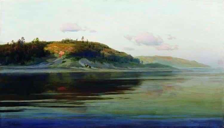 Summer Evening: river, 1894