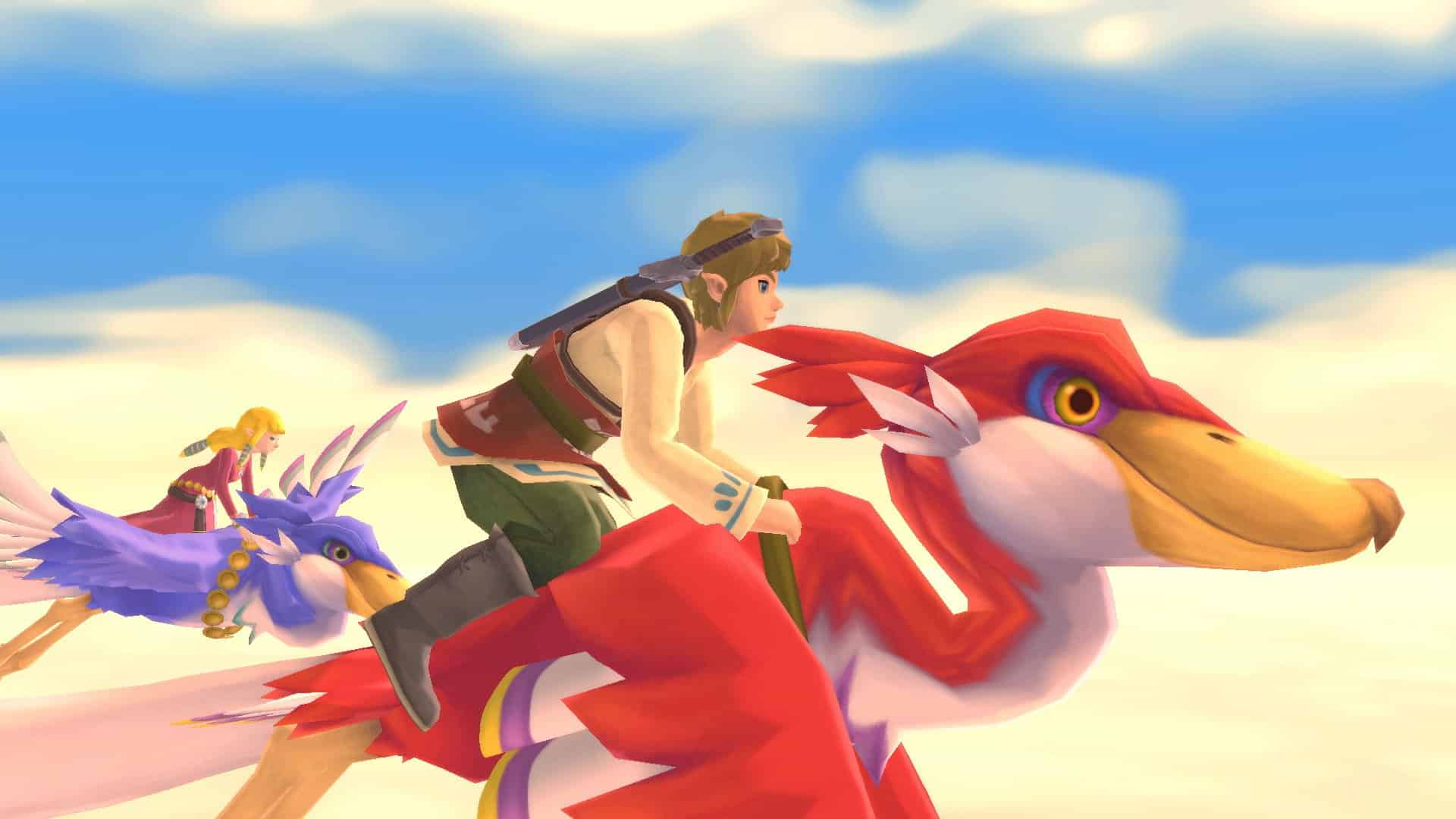 The Legend of Zelda Skyward Sword HD Recensione, nel blu dipinto di blu