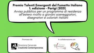 premio talenti emergenti fumetto italiano - Photo Credits:Direzione Generale Creatività Contemporanea