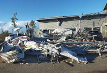 Tromba d'aria a Carpi: danni all'aeroporto, distrutti hangar e alcuni velivoli