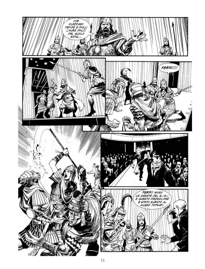 Milla: un thriller a fumetti