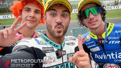 Moto3 Misano (Pagina Facebook MotoGP)